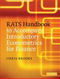 RATS Handbook to Accompany Introductory Econometrics for Finance, Brooks, Chris, 0521896959