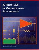 A First Lab in Circuits and Electronics, Tsividis, Yannis, 0471386952
