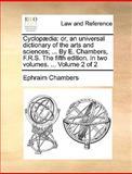Cyclopædi, Ephraim Chambers, 1140986953