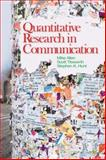 Quantitative Research in Communication, Allen, Mike and Titsworth, Scott, 141295696X