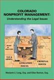 Non-Profit Management, Long, Marjorie J. and Burton, Elise M., 1883726964