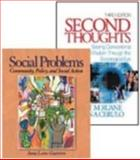 Second Thoughts by Ruane and Cerulo and Social Problems by Leon-Guerrero, Bundle, Ruane, Janet and Cerulo, Karen, 1412936977