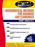 Schaum's Outline of Mathematical Methods for Business and Economics, Dowling, Edward T., 0070176973