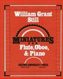 Miniatures for Flute, Oboe, and Piano, , 0193856972