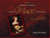 A Anthology of Scores for a History of Music in Western Culture 3rd Edition