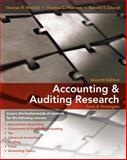 Accounting and Auditing Research : Tools and Strategies, Weirich, Thomas R. and Pearson, Thomas C., 0470506970