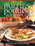 Parties, Potlucks, and Barbecues, Taste of Home Magazine Editors and Reader's Digest Editors, 0898216974