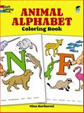 Animal Alphabet Coloring Book, Nina Barbaresi, 0486266982