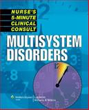Multisystem Disorders, Springhouse, 1582556989