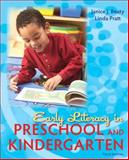 Early Literacy in Preschool and Kindergarten, Beaty, Janice J. and Pratt, Linda, 0137056982