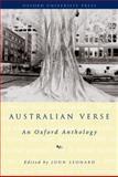 Australian Verse : An Oxford Anthology, , 0195506995