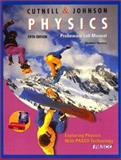 Physics, Probeware Lab Manual, PASCO Scientific Staff and Cutnell, John D., 0471226998