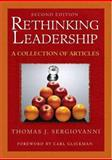 Rethinking Leadership : A Collection of Articles, , 1412936993