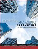 Financial and Managerial Accounting, Williams, Jan and Haka, Sue, 0073526991