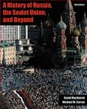 A History of Russia and the USSR, MacKenzie, David and Curran, Michael W., 0534586996