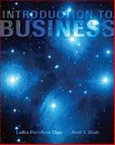 Introduction to Business, Dias, Laura Portolese and Shah, Amit J., 007337699X
