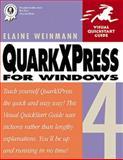 Quarkxpress 4 for Windows, Weinmann, Elaine, 0201696991