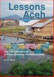 Lessons from Aceh, Jo da Silva, 1853397008