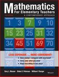Mathematics for Elementary Teachers 10th Edition