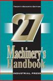 Machinery's Handbook, Oberg and Jones, Margaret, 0831127007