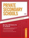 Private Secondary Schools 2009-2010, Peterson's, 0768927005