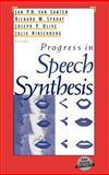 Progress in Speech Synthesis, , 0387947019