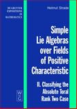 Simple Lie Algebras over Fields of Positive Characteristic : II. Classifying the Absolute Toral Rank Two Case, Strade, Helmut, 3110197014
