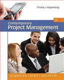 Contemporary Project Management, Kloppenborg, Timothy, 0538477016