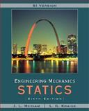 Engineering Mechanics : Statics, Meriam, J. L. and Kraige, L. G., 0471787027