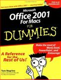 Microsoft Office 2001 for Macs for Dummies, Tom Negrino, 0764507028