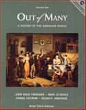 Out of Many : A History of the American People, Faragher, John Mack and Buthle, Mari Jo, 0130177024