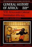 UNESCO General History of Africa : Africa under Colonial Domination, 1880-1935, UNESCO Staff, 0520067029
