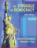 The Struggle for Democracy, Greenberg, Edward S. and Page, Benjamin I., 0321097033