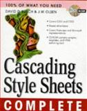 Cascading Style Sheets Complete, Busch, David D., 0079137032