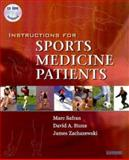Instructions for Sports Medicine Patients, Safran, Marc R. and Stone, David A., 0721677045