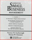 Effective Small Business Management, Scarborough, Norman M. and Zimmerer, Thomas W., 0133977048