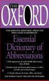 The Oxford Essential Dictionary of Abbreviations, Oxford University Press Staff, 0425197042