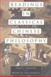 Readings in Classical Chinese Philosophy 9780872207042