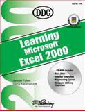 Learning Microsoft Excel 2000, DDC Publishing Staff and Fulton, Jennifer, 1562437054