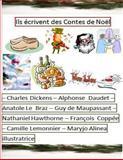 Ils Ecrivent des Contes de Noel, Mr Charles Dickens - CD, Mr Alphonse Daudet - AD, Mr Anatole Le Bratz - ALB, Mr Nathaniel Hawthorne - NA, Mr Francois Coppee - FC, Mme Camille Lemonier - CL, 1493747053