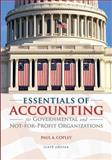 Essentials of Accounting for Governmental and Not-for-Profit Organizations, Copley, Paul A. and Engstrom, John, 007352705X