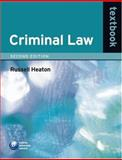 Criminal Law Textbook, Heaton, Russell, 0199287058