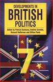 Developments in British Politics 7 : Seventh Edition, Dunleavy, Patrick, 0333987055