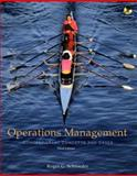 Operations Management : Contemporary Concepts and Cases, Schroeder, Roger G., 0073137065