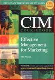 Effective Management for Marketing 9780750657068