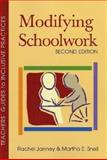 Modifying Schoolwork, Second Edition, Janney, Rachel and Snell, Martha E., 1557667063