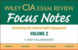 Conducting the Internal Audit Engagement, Vallabhaneni, S. Rao, 0470277076