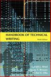 Handbook of Technical Writing, Alred, Gerald J. and Brusaw, Charles T., 0312477074