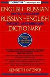 English-Russian, Russian-English Dictionary, Kenneth Katzner, 0471017078