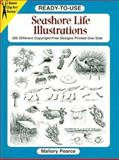 The Ready-to-Use Sea Shore Life Illustrations, Mallory Pearce, 0486407071